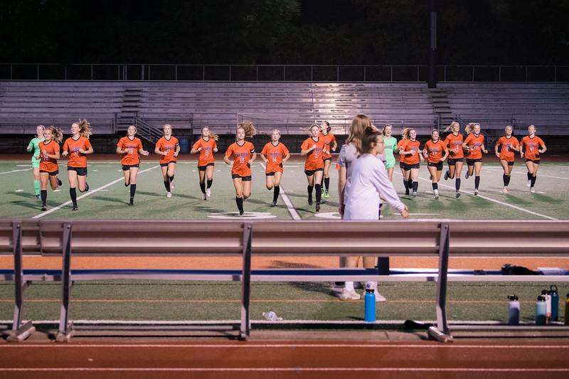 WBL Girls Soccer -V- Roseville 2021