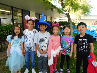 Paradise Canyon Students Have the Disney Spirit