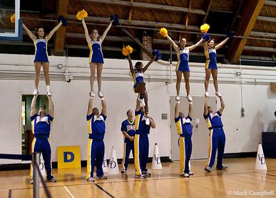 Cheerleaders and Dance Team