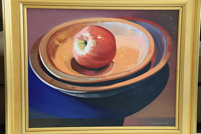 Dean Shelton Apple in Bowl