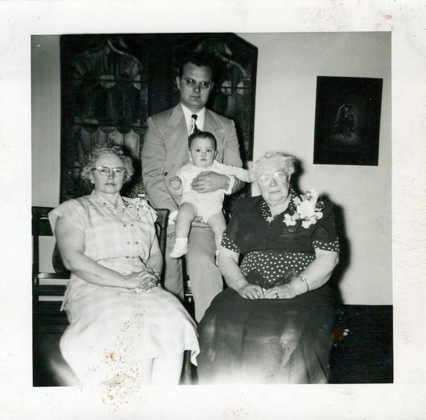 1950 4 generation, Florence, Doc, Donny Allen and Great Grandma Boadway.jpeg