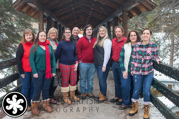 Vail Family Photos - Gore Creek Covered Bridge - Youngblood