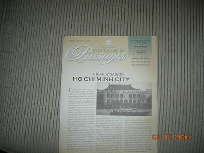 Ho Chi Minh City, (Saigon) Vietnam (3/3/2006)