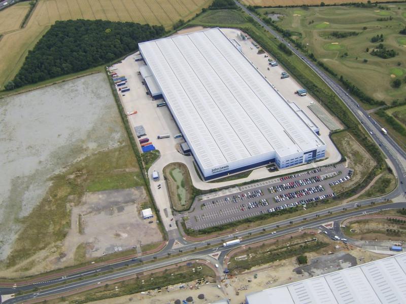 Updated photo's of the John Lewis Distribution Center, Magna Park, Milton Keynes
