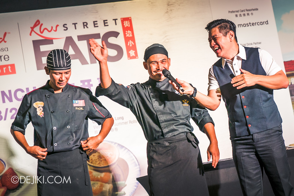 RWS Street Eats 2018 - Chef Mohd Fairus and Chef Zainal Abidin
