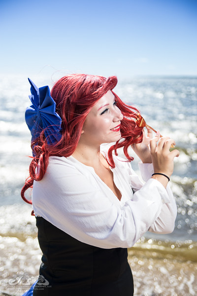 Rose-Maiden Cosplay as Ariel