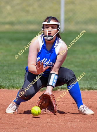 April 12, 2019; Smith Valley vs. Coleville, Girls Varsity Softball