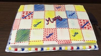Mary's 80th