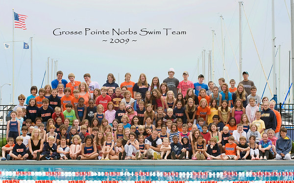 GP Norbs Swim Team Photo, 2009
