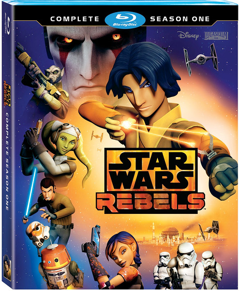 STAR WARS REBELS Season One now available for home release