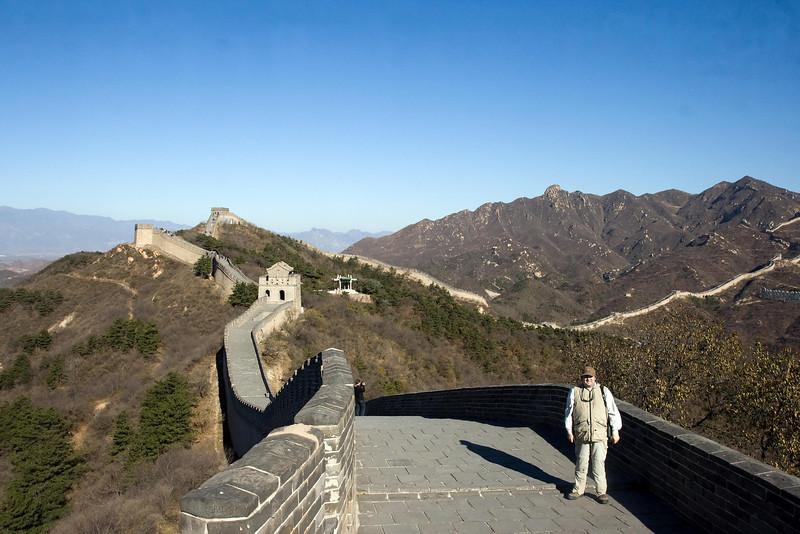 Chris at Great Wall of China, Badaling, China (11-3-08).psd