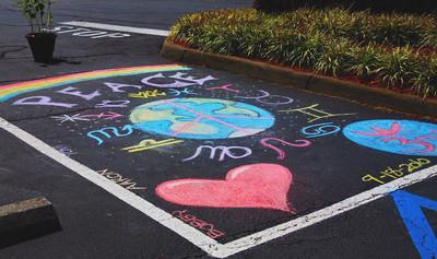 CHALK4PEACE at Peace, Love and Balance, Virginia Beach, VA