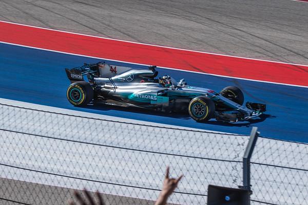 Formula 1 COTA Oct 2017