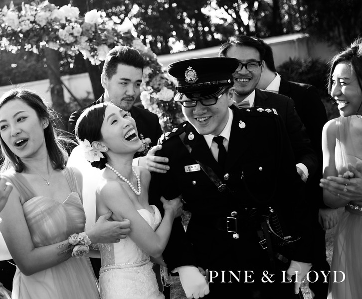 Wedding Day - Pine and Lloyd (Disneyland Hotel)