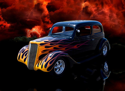 Mike's 1935 Ford