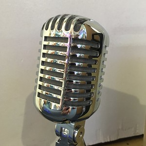 Vintage 50s style Microphone