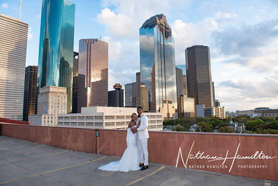 Hobby Center wedding photos