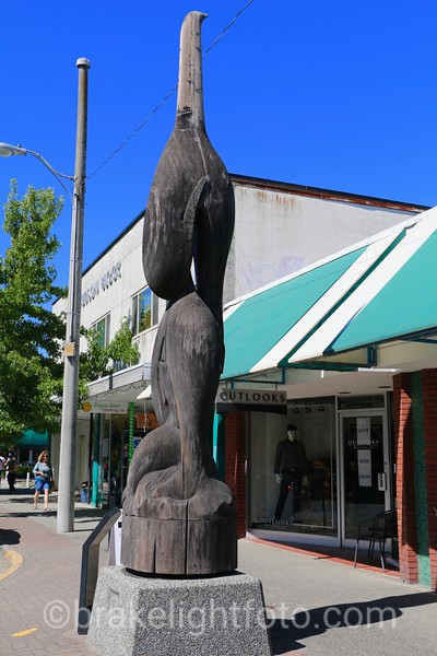 Downtown Duncan  Totem Pole