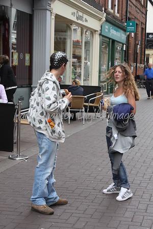 Bury St Edmunds on Market Day