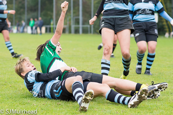 Delft Dames vs SRC Thor 1 - 18 October 2015