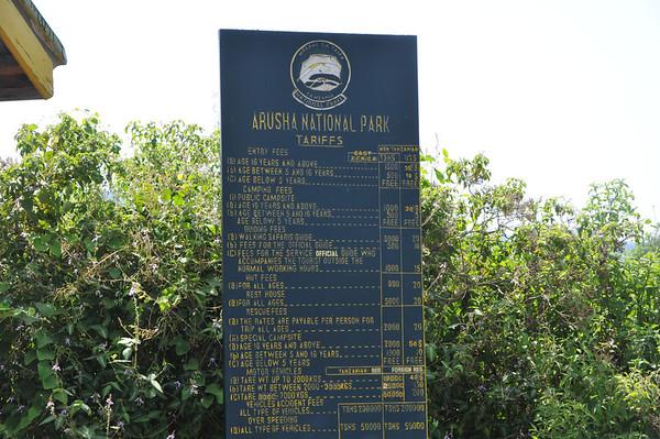 Arusha National Park June 12, 2011