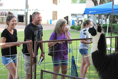 Timpson Frontier Days midway action Thursday evening