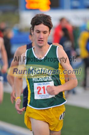 Men's 1500 Meters - 2012 Gina Relays