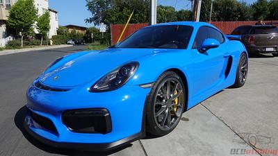 2018 Porsche GT4 - Voodoo Blue