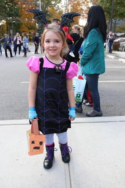 10-31-18 Emma's Last Preschool Halloween parade