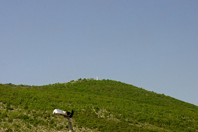 Medjugorje, ascensione sul Krijevac, 01.05.2013