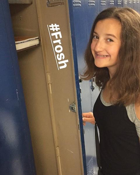 A nice locker on the 3rd floor of C Hall...