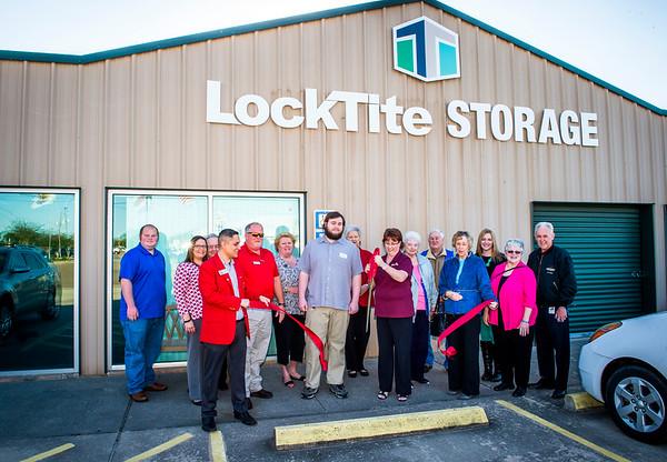 LockTite Storage Ribbon Cutting