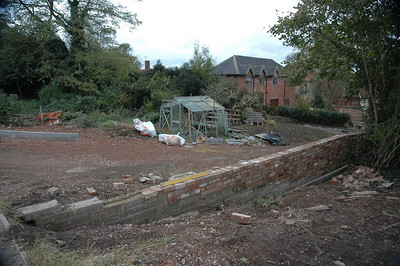 Newent Post Office Coach House and Garden Oct 2008