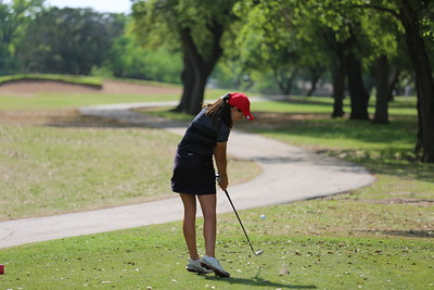 2015.04.07 Golf Lady's District 14-6A Championships