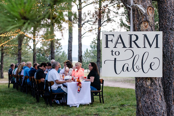 Farm to Table Dinner- Snow Creek Larkspur