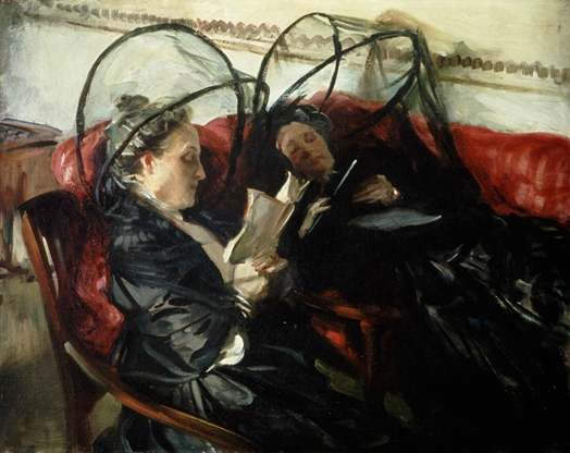"Description of . ""Mosquito Nets"" by John Singer Sargent: $4.5M-$8M. Photo courtesy of the Detroit Institute of Arts."