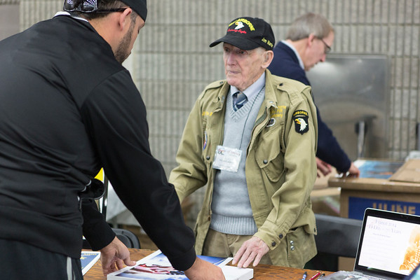 WWII Veterans Attending the 2015 Ohio Valley Military Collectors Show