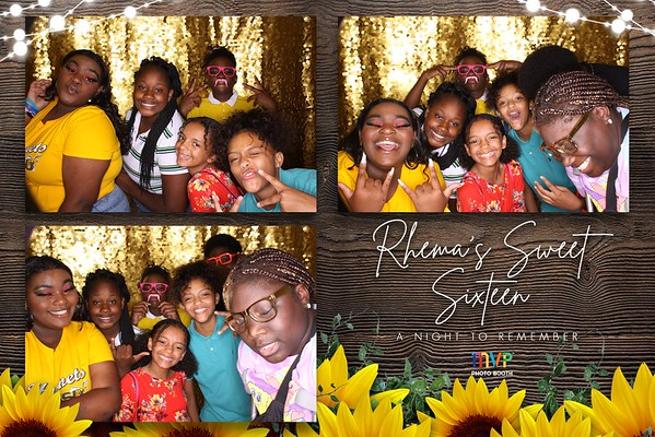 Rhema's Sweet Sixteen