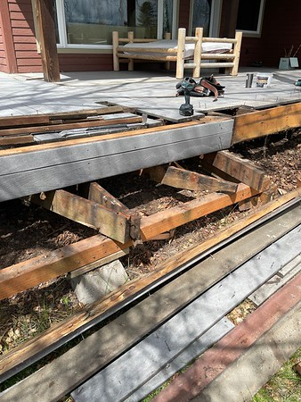 Deck Replacement in Whitefish