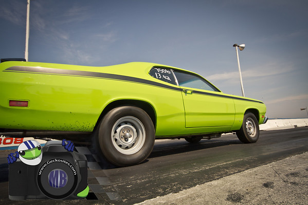 Green Plymouth Duster