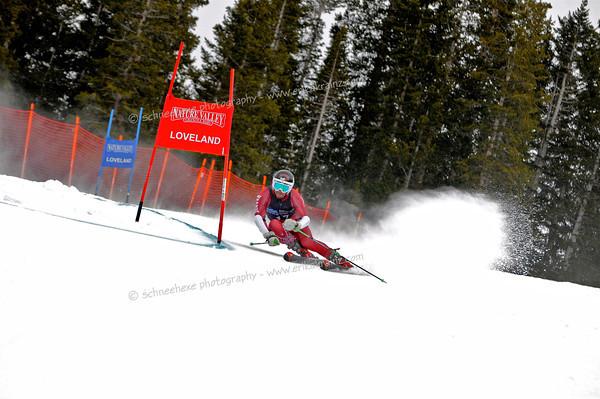 2-6-13 Utah FISU GS at Loveland - Mens Run #2