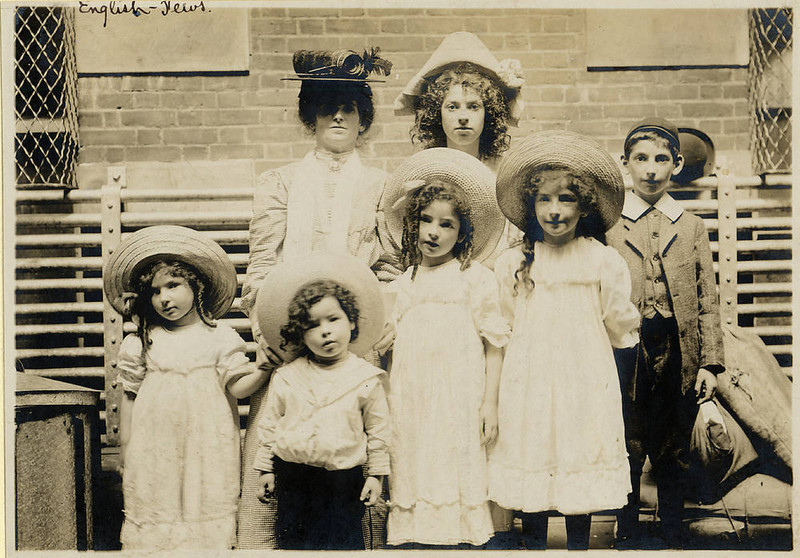 . Jewish family from England posing for the camera. (NPS photo)