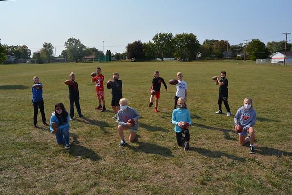 Football Punt Pass & Kick contest Champs