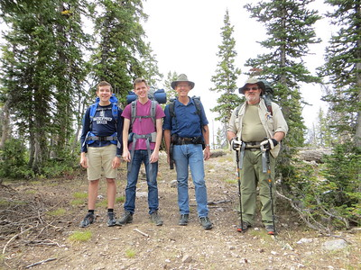 2016 Hooper-Pedersen High Uinta Backpacking