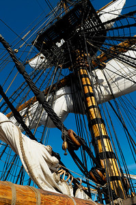 18th century sailing ship