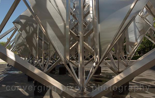 The Smithsonian Sculpture Garden:  Washington DC. September 2013
