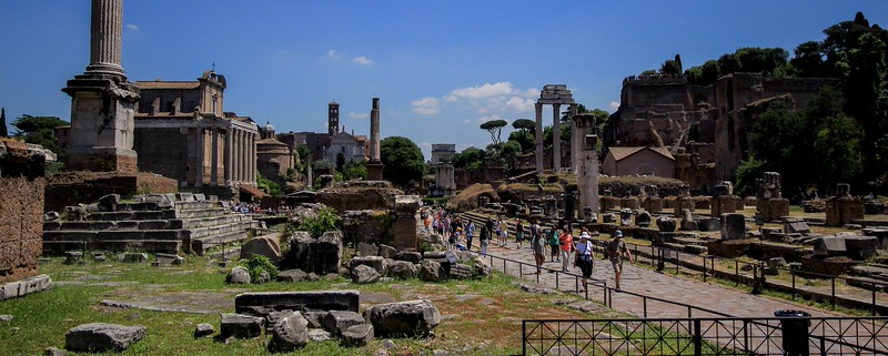 Another view of the Forum.