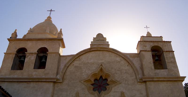 Mission San Carlos Borroméo del río Carmelo, also known as the Carmel Mission, is a Roman Catholic mission church in Carmel-by-the-Sea, California.  ref: e4ade0e2-a3f5-4407-8633-2420ffe4e030