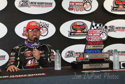 NWMT 9/26/2015 F.W. Webb 100 New Hampshire Motor Speedway