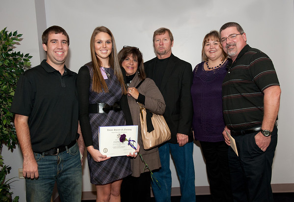 Sigma Theta Tau Lambda Sigma Induction Winter 2012